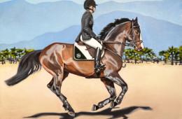 Clintord I, Oil Paint on Canvas, 18″x24″