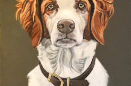 Mattie, Oil Painting on Canvas, 12″x16″