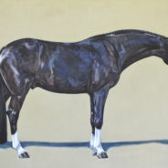 Walker, Oil Painting, 32″x22″