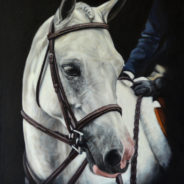 Lazy J Silver Bail, Oil Painting, 16″x20″