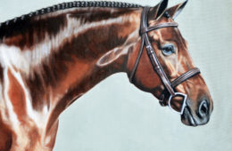 Cartier, Oil Painting, 16″x20″